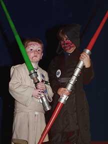 Master Jedi Gage and Daniel