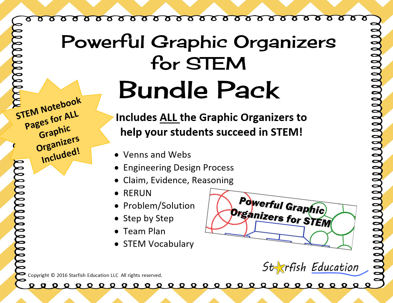 Powerful Graphic Organizers For Stem Bundle Pack
