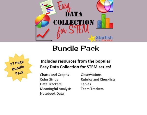 Easy Data Collection Stem- Bundle Pack - Starfish