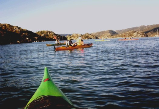 heading out...first time kayaking but thoroughly enjoyed it