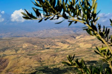 View from Mount Nebo 'Moses Mountain', Jordan