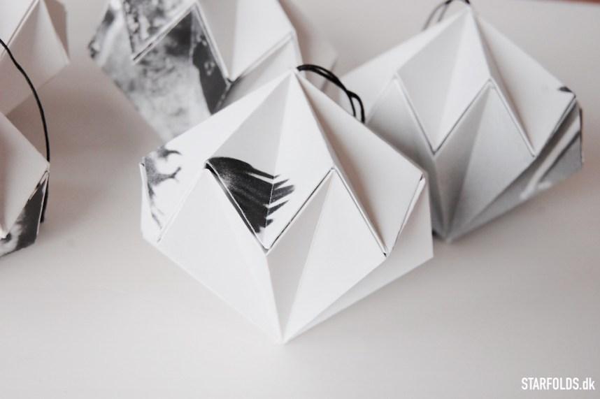 Fold en papirdiamant