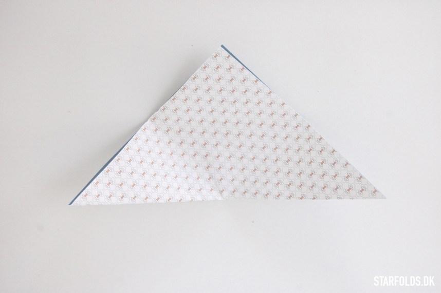 Trin 1 DIY Geometriske æsker i papir
