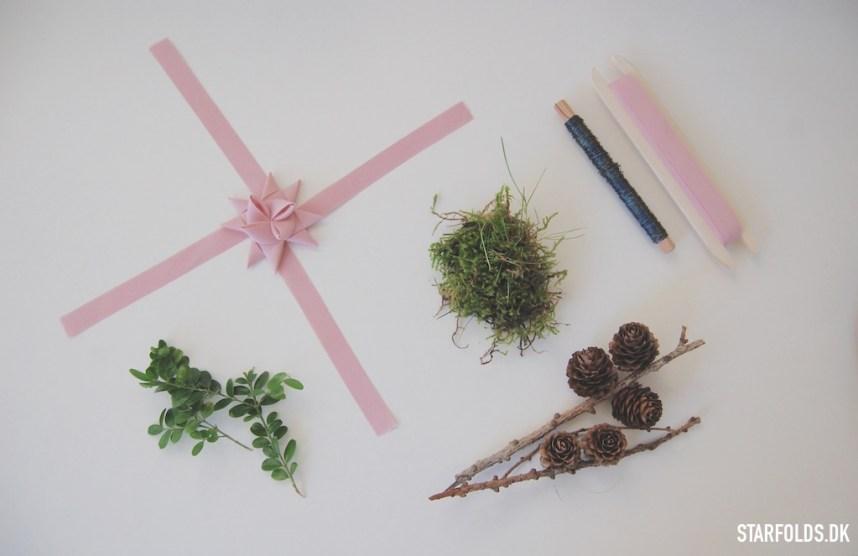 DIY Materialer til kalenderlys dekoration