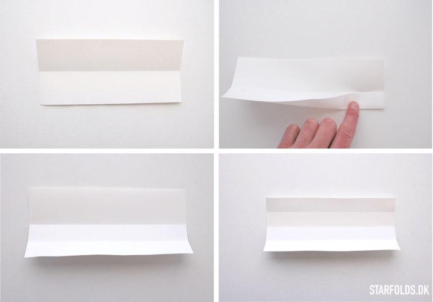 DIY Påskeæg foldet i papir trin 2