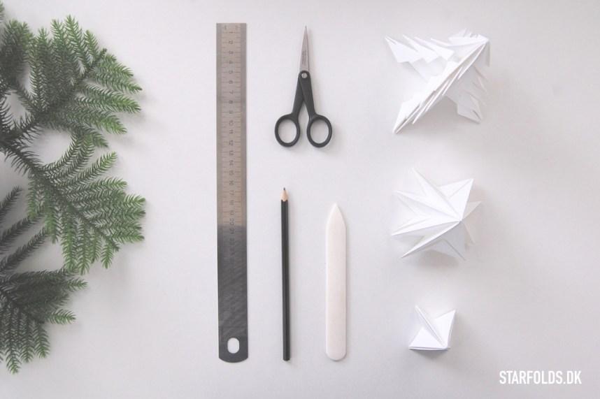 DIY Juletræer - Materialer