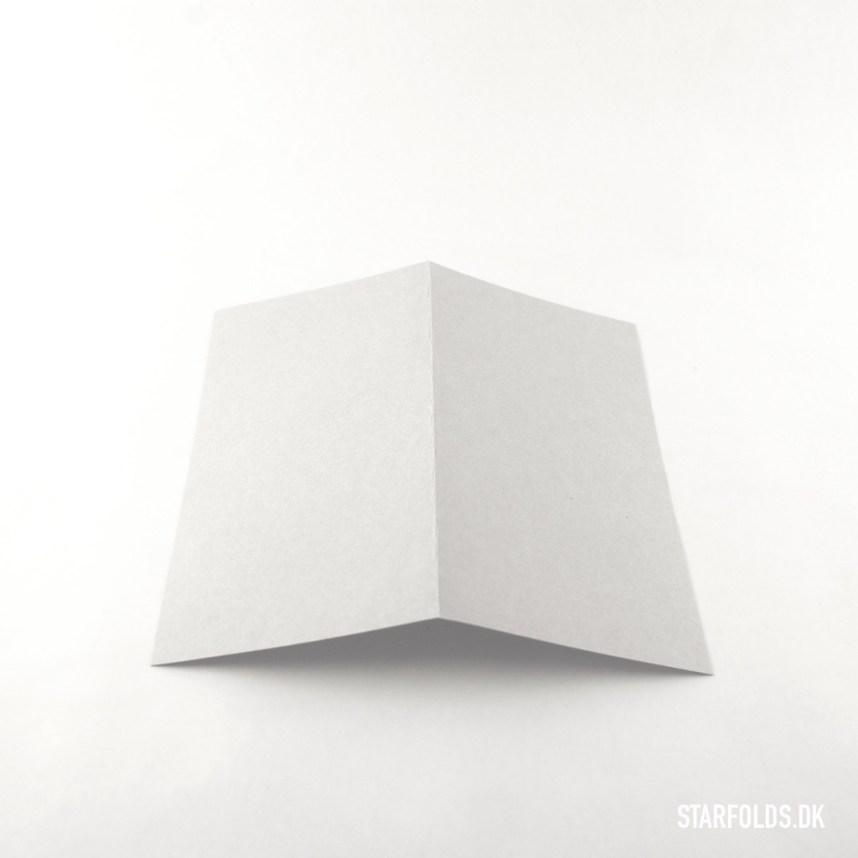DIY Papirfly trin 1