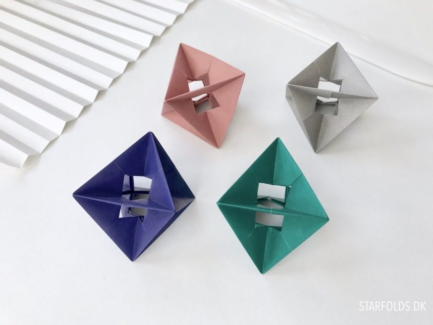 6 foraarsideer til kreative stunder med papir fold enkel origamipynt