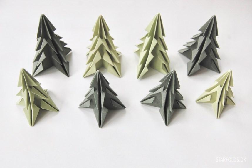 DIY kit til Starfolds juletræer