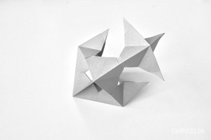 Foldeteknikker i papir modulær origami