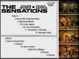 Discography THE SENSATIONS 3