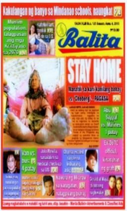 COVER - Balita Apr 4 2015
