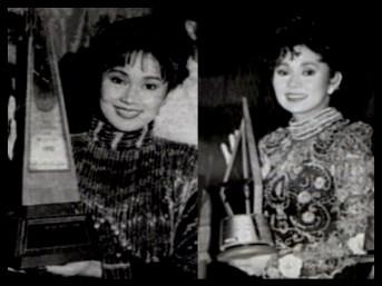 MEMORABILIA - Vi with Star Awards 1990 1992