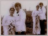 MEMORABILIA - Vi in wedding gown 2