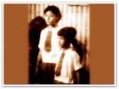 MEMORABILIA - Vi with Gina Alajar Circa 1960s