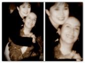 MEMORABILIA - Vilma with Gloria Romero circa 1980s