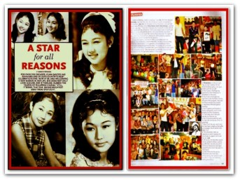 MEMORABILIA - Vi at Inside Showbiz
