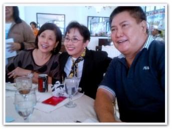 MEMORABILIA - Vi with Mother Lily and Mario Bautista