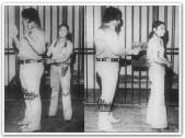 MEMORABILIA - Vi and Edgar Mortiz as cops 1970s