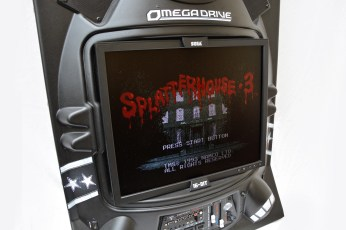 Splatterhouse 3 on the Sega Omega Drive