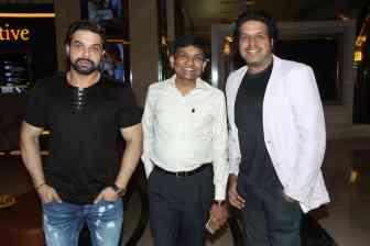 Producers Dhiraj Shetty, Jayantilal gada and Siddhanta Ashdhir,