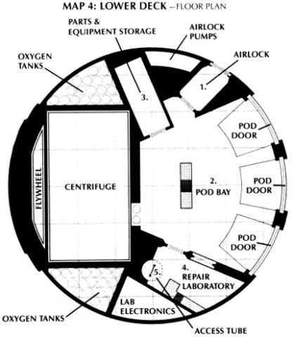 2001 USS Discovery deck plans via httpwwwstarfrontiersus