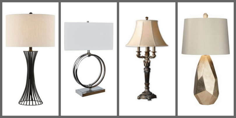 Table Lamps, Floor Lamps, & Ceiling Fixtures to Light Up Your Living Room