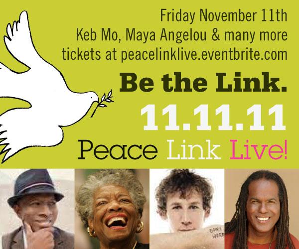 PeaceLink Live! Banner