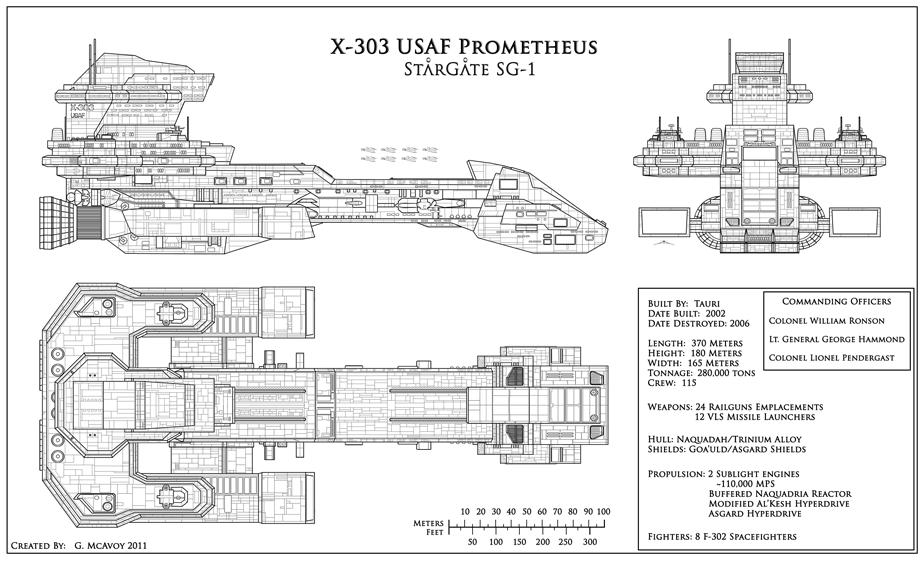 X-303 USAF PROMETHEUS