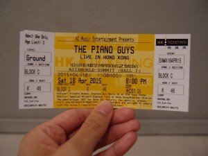 The Piano Guys Hong Kong Concert 2015 酷音樂團香港音樂會 (3/6)