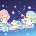 受保護的內容: Little Twin Stars Wallpaper 2017 一月桌布 日本官方Twitter票選無憂夜行版