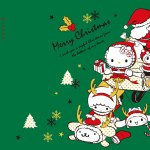受保護的內容: Little Twin Stars Wallpaper 2016 十二月桌布 台灣官方聖誕版