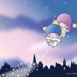 受保護的內容: Little Twin Stars Wallpaper 2017 四月桌布 日本官方Twitter票選空之日版