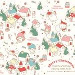 受保護的內容: Little Twin Stars Wallpaper 2017 十二月桌布 日本官方聖誕版