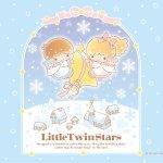 受保護的內容: Little Twin Stars Wallpaper 2018 十二月桌布 日本官方Twitter冬日版