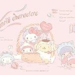 Little Twin Stars Wallpaper 2019 一月桌布 日本官方電子報
