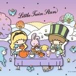 Little Twin Stars Wallpaper 2019 十月桌布 日本官方Twitter愛麗絲版