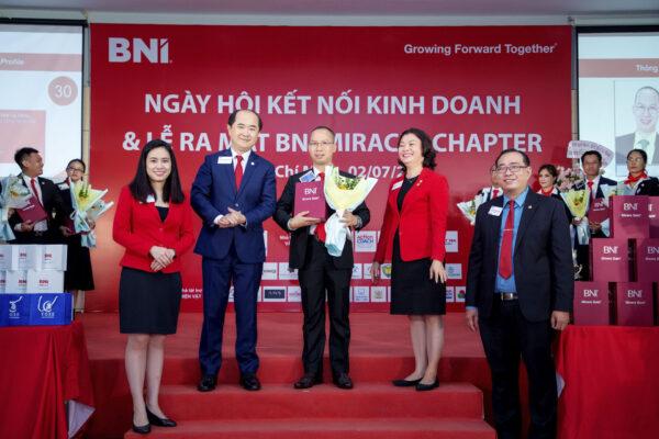 Ông Trần Duy Hào - Chủ tịch BNI Miracle Chapter - Quận 9