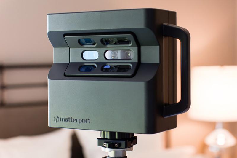 Matterport pro2 camera là thiết bị hỗ trợ hàng đầu cho việc số hóa 3D