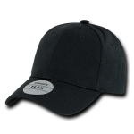 Custom Baseball Flex Hats (Embroidered with Logo) - Black - Decky 1016W