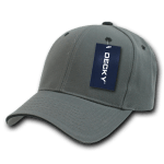 Custom Sandwich Bill Baseball Hat (Embroidered with Logo) - Charcoal/Black - Decky 2003