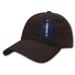 Custom Relaxed Classic Dad Hat (Embroidered with Logo) - Brown - Decky 205