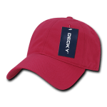 Custom Relaxed Classic Dad Hat (Embroidered with Logo) - Hot Pink - Decky 205
