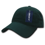 Custom Relaxed Classic Dad Hat (Embroidered with Logo) - Hunter - Decky 205