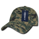 Custom Cotton Camo Baseball Hat (Embroidered with Logo) - MCU Camo - Decky 216