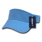 Custom Youth Visors (Embroidered with Logo) - Sky - Decky 7007