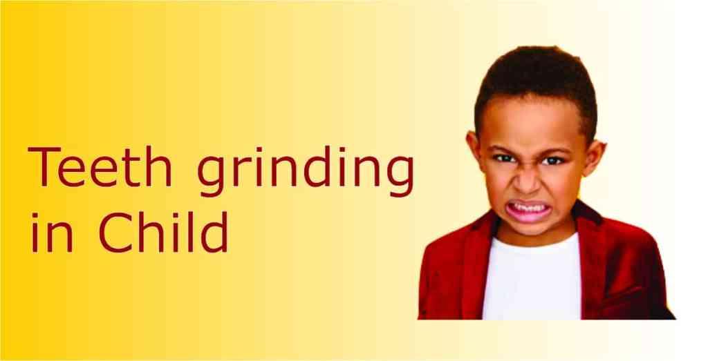 babies grinding their teeth