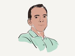 Cartoon image of Daniel Cummings from Croton-On-Hudson, NY