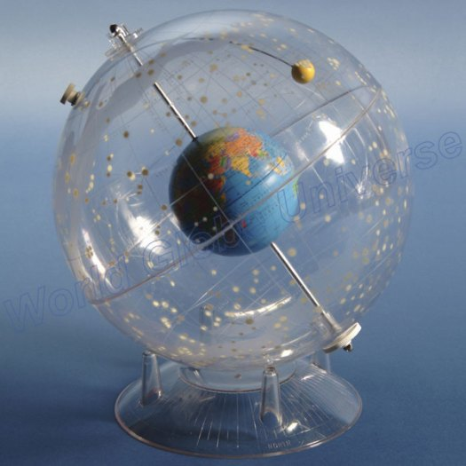 Celestial sphere, star dome, model of how the stars are placed in the sky