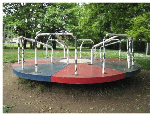 Merry-Go-Round earth. The Earth is like a merry-go-round that carries us around and around each day as it rotates.